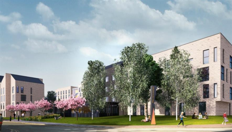 Visualisation of the first phase of Fallowfield. Image: Carillion