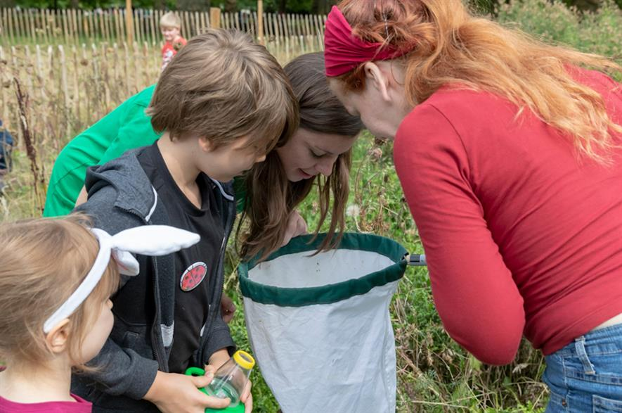 Families discover invertebrates at Green Park - credit: The Royal Parks/Penny Dixie