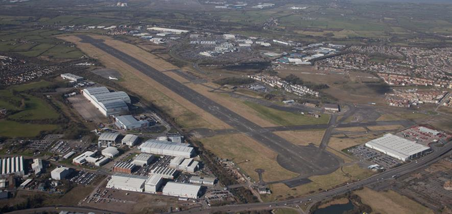Filton Airfield's runway has inspired a linear park. Image: Allies and Morrison
