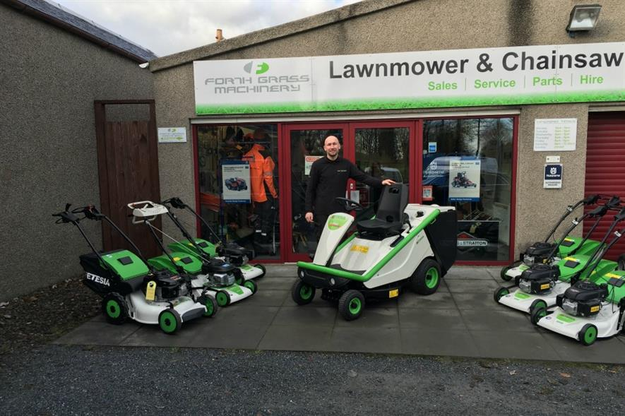 Forth Grass Machinery joins Etesia UK dealer network. Image: Supplied