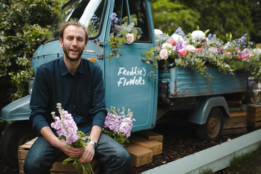 Freddie Garland - credit: Freddie's Flowers