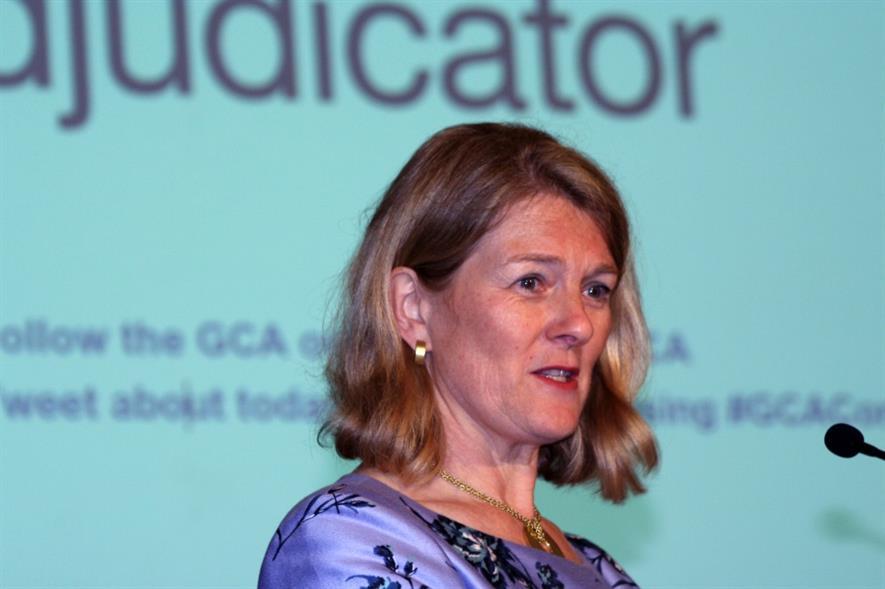 Groceries Code Adjudicator Christine Tacon. Image: HW