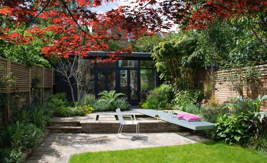 Garden design and image by Jon Sims.
