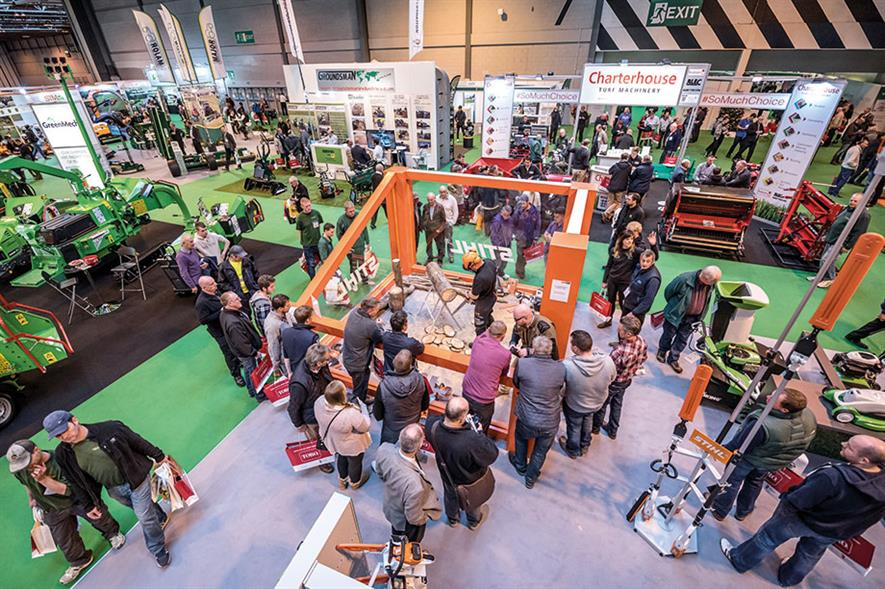Saltex: exhibitors will be displaying machinery, tools, seeds, turf, treatments and facilities equipment at the show in Birmingham