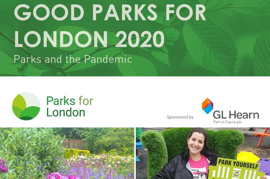 Credit: Good Parks for London 2020