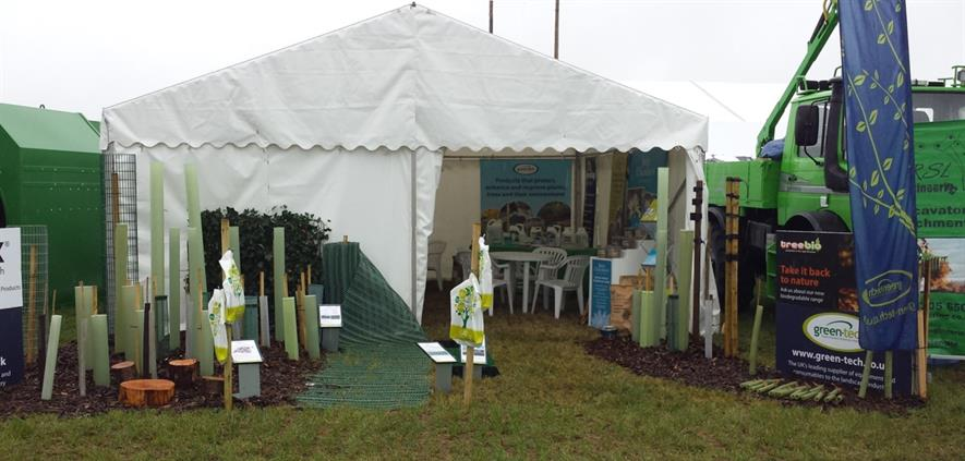 The Green-tech stand at APF. Image: Green-tech