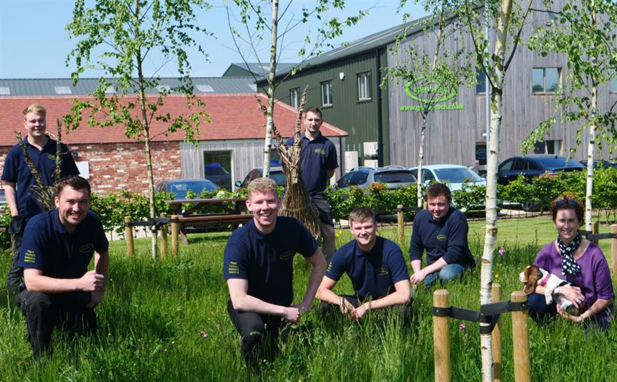 Immersed in landscape - Green-tech's new starters. Image: Green-tech