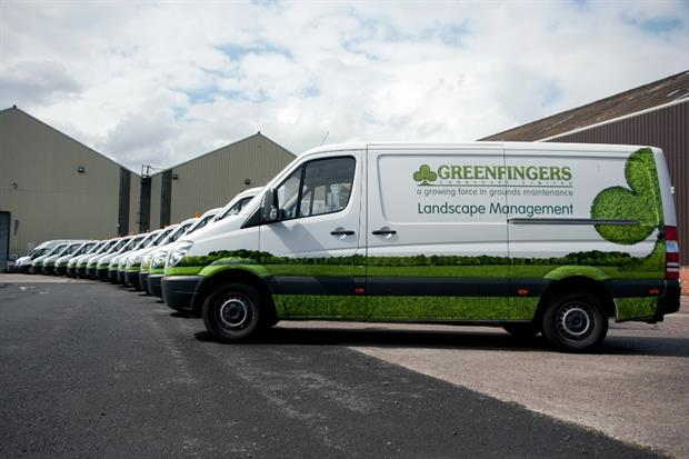 Greenfingers Landscape has a significant social housing client base. Image: Greenfingers