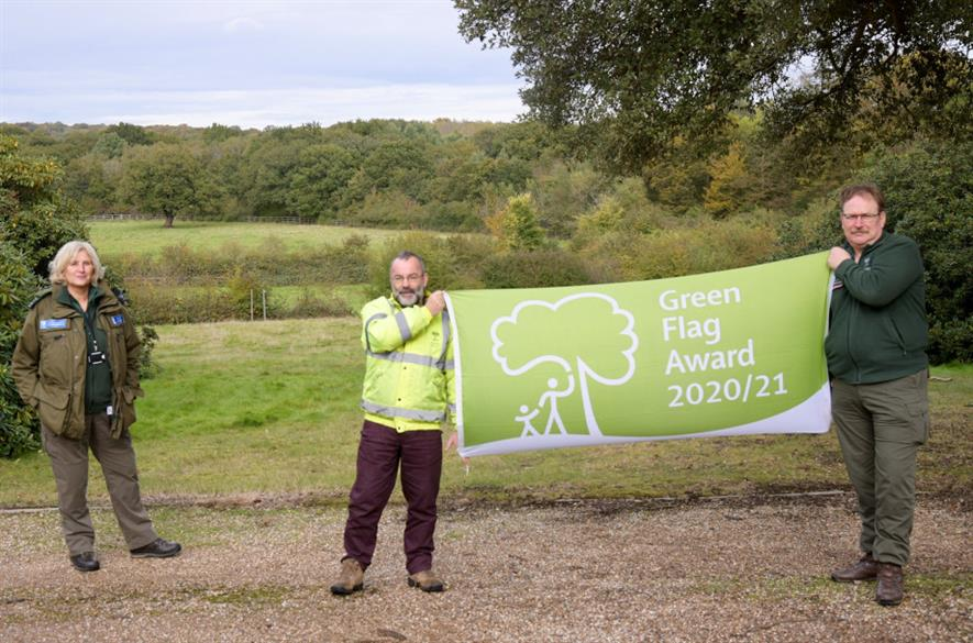 Epping Forest Green Flag award - City of London Corporation