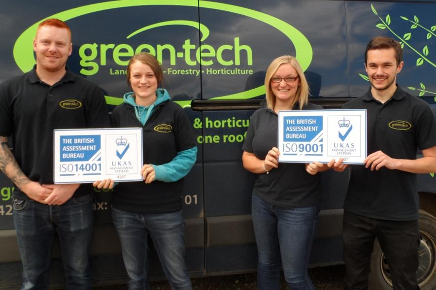 Green-Tech staff. Image: Supplied