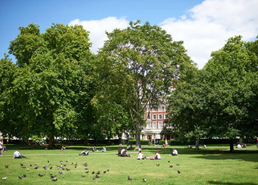 Grosvenor Square is set to be re-imagined for the 21st Century. Image: Grosvenor Britain & Ireland