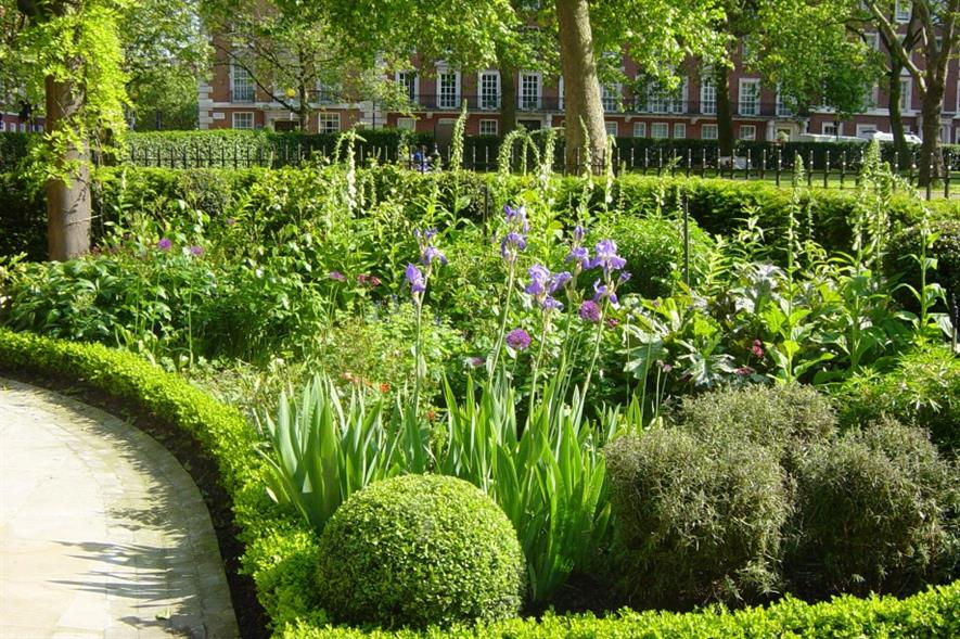 Grosvenor Square Gardens, currently managed by The Royal Parks. Image: (C) Alan Barbier / The Royal Parks