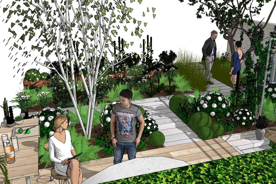 A Place To Meet Again garden by Mike Long Garden Design - credit: APL