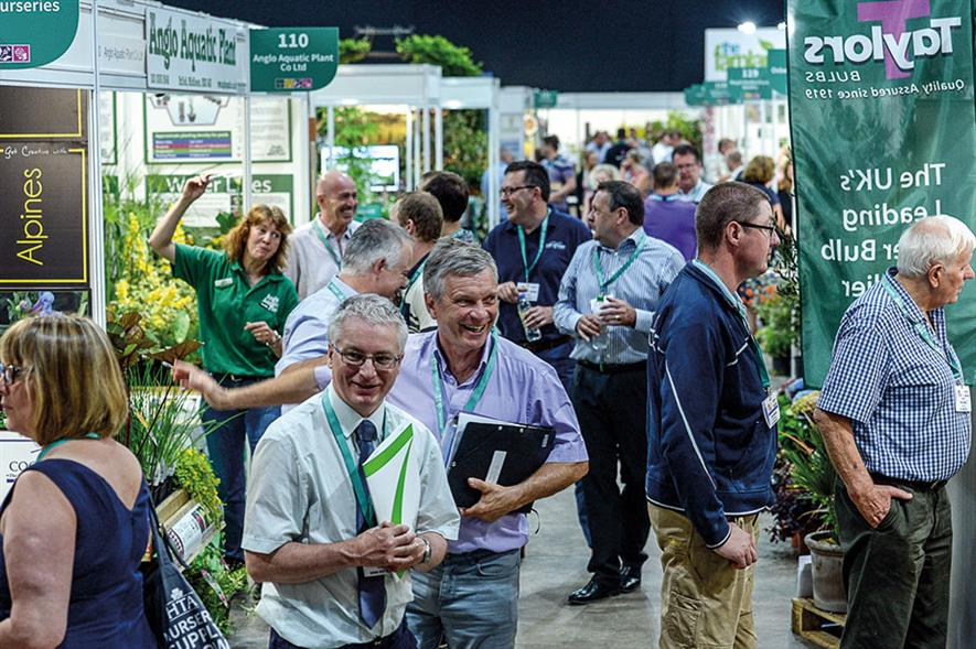 National Plant Show: around 100 UK nurseries will be displaying plants this year - image: HTA