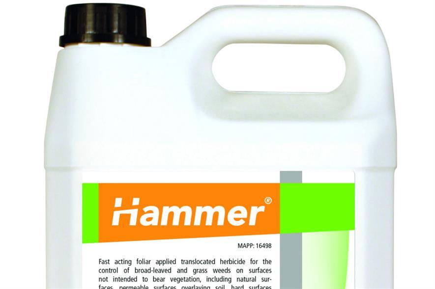 Hammer herbicide. Image: Supplied