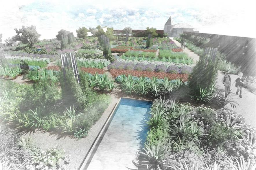 Harris Bugg's design won a national competition. Image: RHS