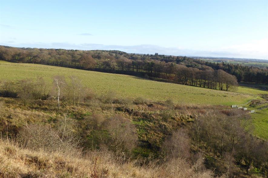 Hartwood Farm in Shotts, North Lanarkshire - credit: FLS