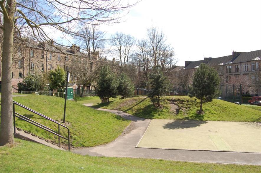 Hayburn Park. Image: Supplied by My Park Scotland