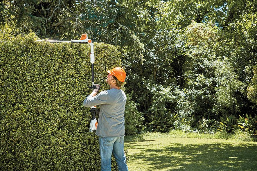 Long-reach: Stihl has added HLA 56 to lithium-ion compact cordless battery system - image: Stihl