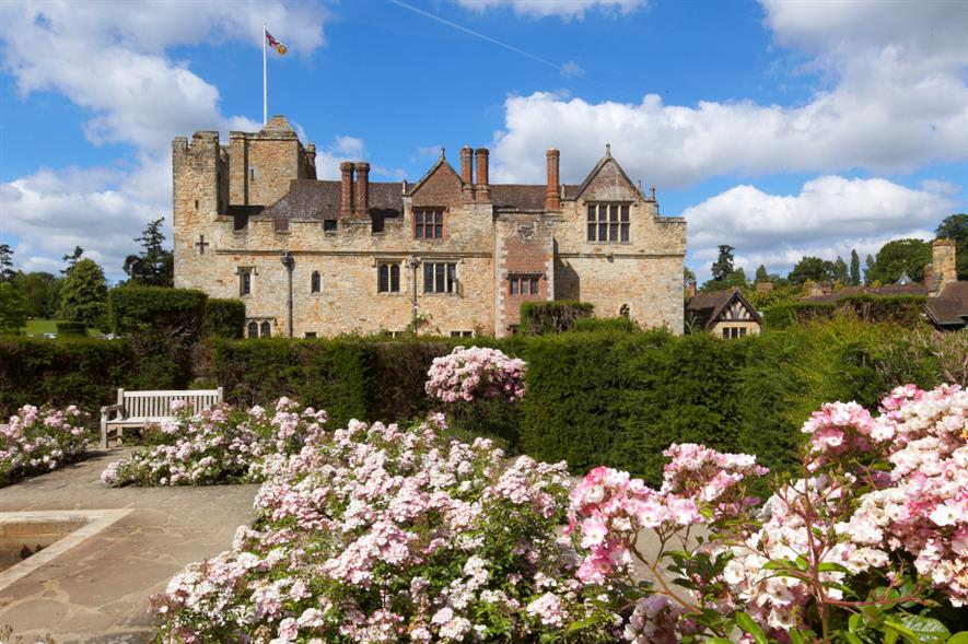 Hever Castle & Gardens in summer bloom - credit: Hever Castle & Gardens