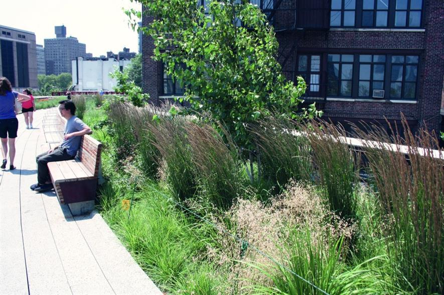 The High Line. Image: Landscape Institute