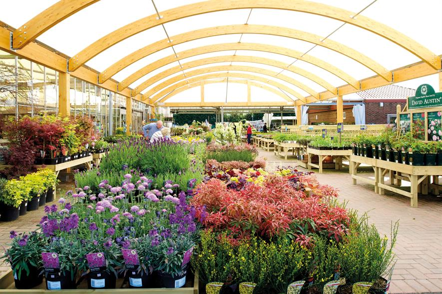 Hillier: larger planterias have helped the group to reach £5m in plant sales and also suit its reputation as a grower