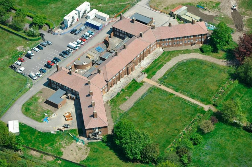 Previous landscaping work completed at Larkhill Garrison as part of the contract. Image: Aspire Defence