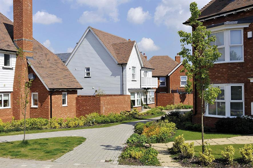 Residential: housebuilders feature in this year's listing of leading developers alongside retailers and local authorities - image: Bellway Homes