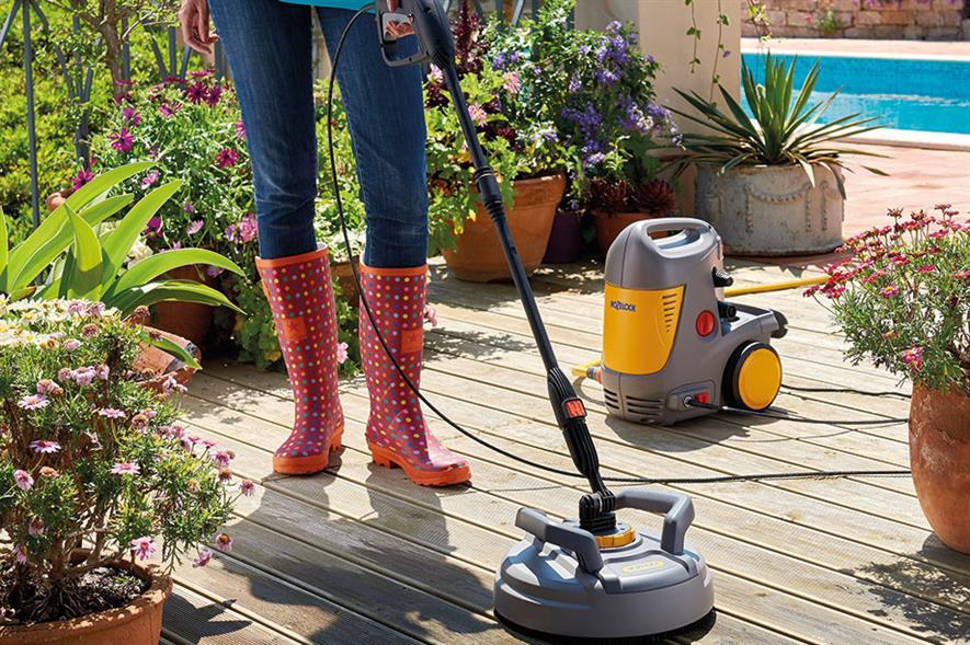 Best New Retail Product Gardening - Winner: Hozelock Pico Power Pressure Washer