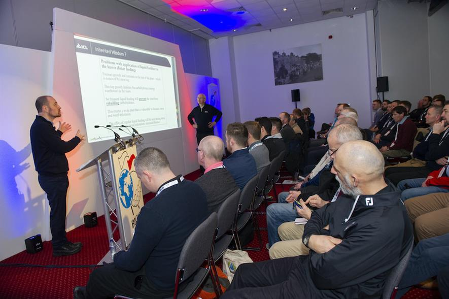 ICL's Dr Andy Owen and Henry Bechelet presenting at Continue to Learn - credit: ICL