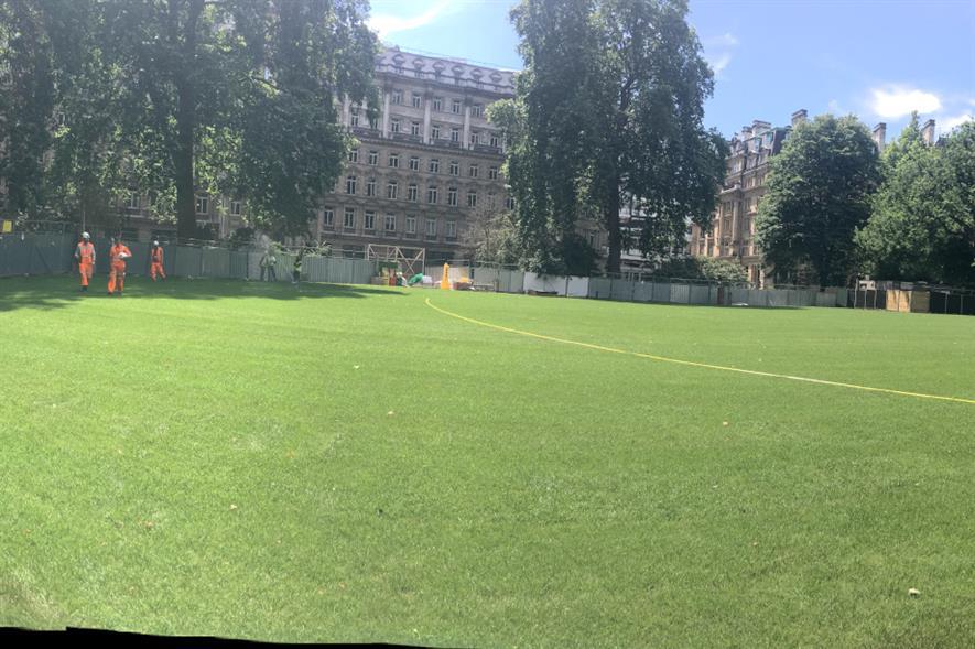 Finsbury Circus Gardens - credit: City of London Corporation
