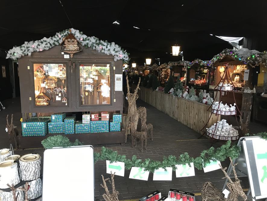 Meadowcroft Christmas market 2020