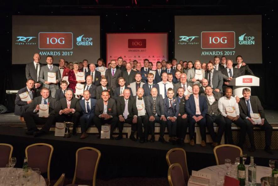 This year's winners. Image: IOG