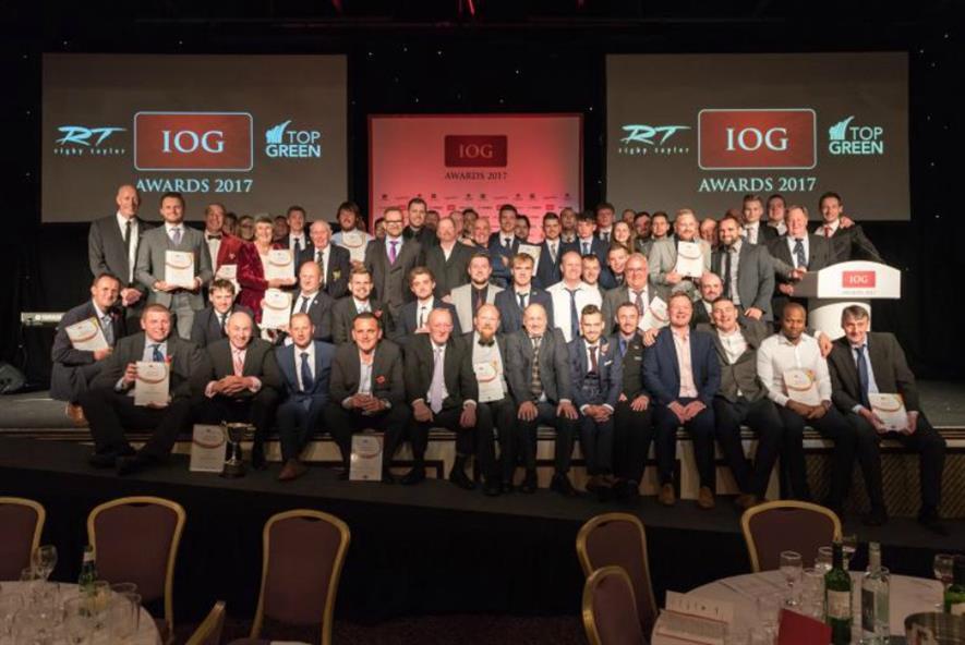This year's winners. Image: IOG