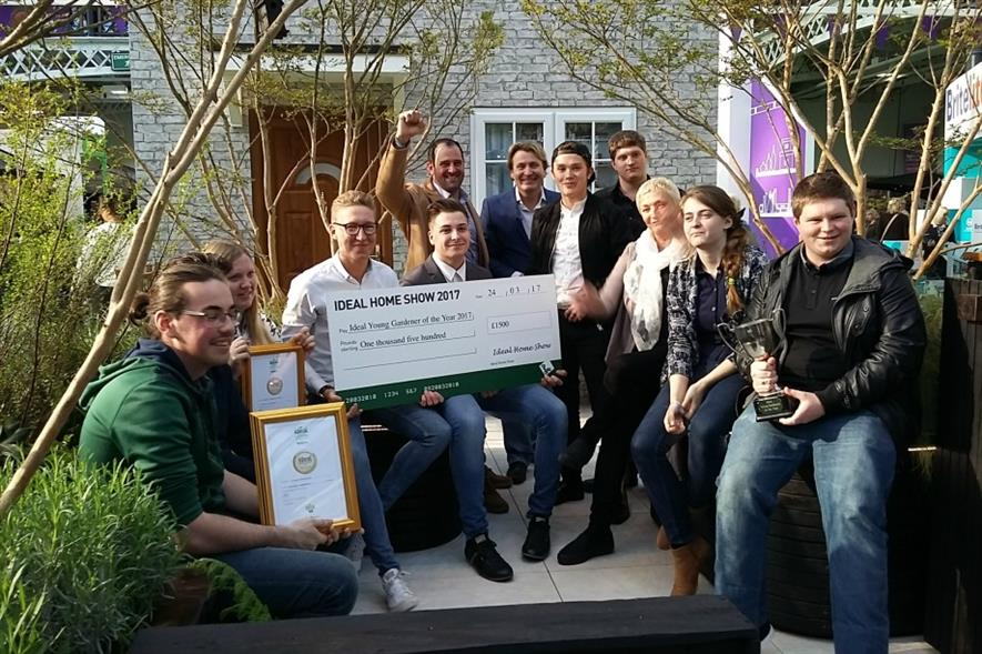 Writtle University College wins garden design and build at ... on ideal city design, ideal sewing room design, ideal chicken coop design, ideal kitchen design, ideal food plot design, ideal architectural design,