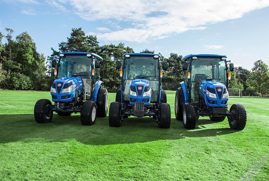 Iseki TG6 Series of medium range tractors - image: Ransomes Jacobsen