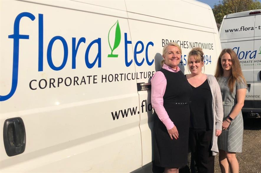 (l-r) Jayne Pett, Kirsty Richardson and Kirsty Ackerley. Image: Fleet Operations