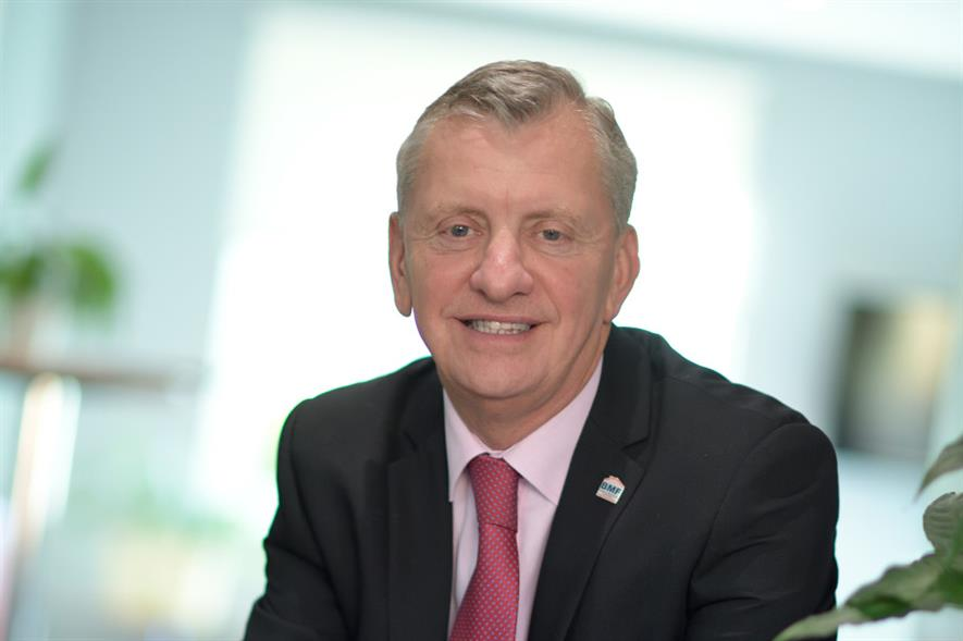 BMF chief executive John Newcomb - image: BMF