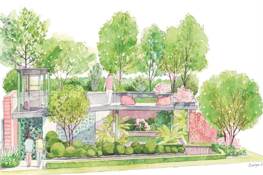 Greenfingers' garden designed by Kate Gould