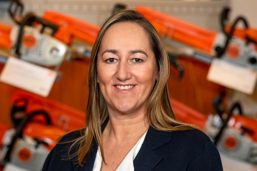 STIHL GB managing director Kay Green - credit: STIHL