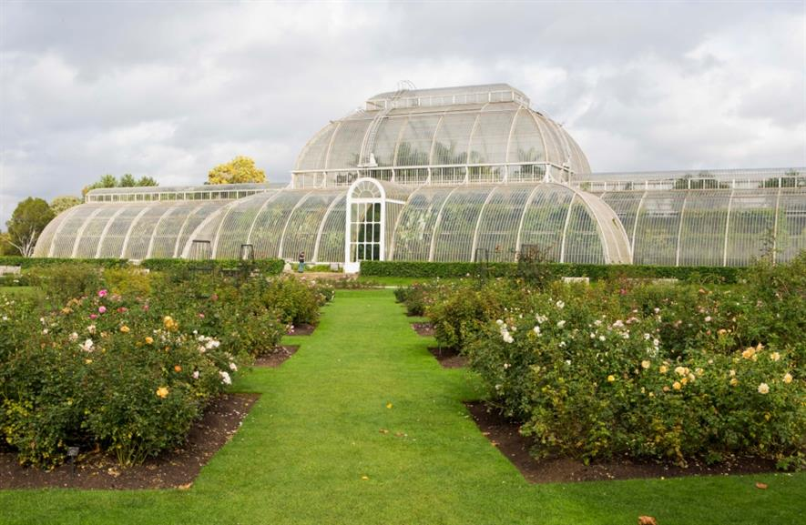 Kew Gardens is the most visited garden in the UK with 1.86m visitors. Image: HW
