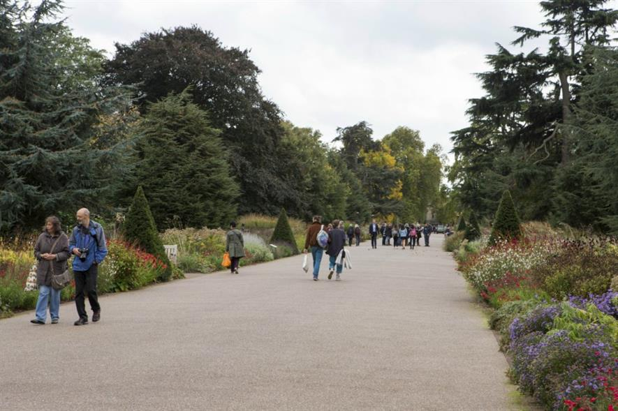 Royal Botanic Garden Kew remains the UK's most popular garden attraction. Image: HW