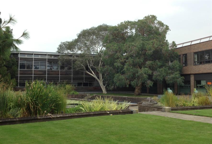 Science buildings at Kew