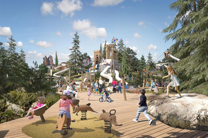 Krasnoyarsk Stolby playground - credit: LDA