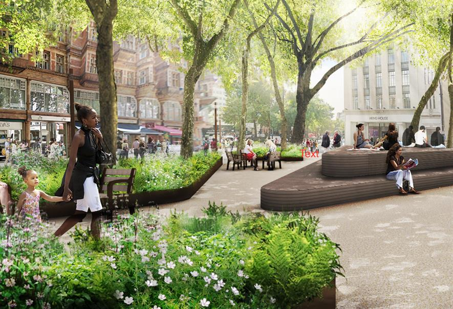 Landscape designs revealed for major transformational ...