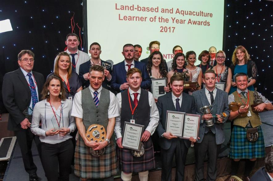 Learners of the Year. Image: Lantra Scotland