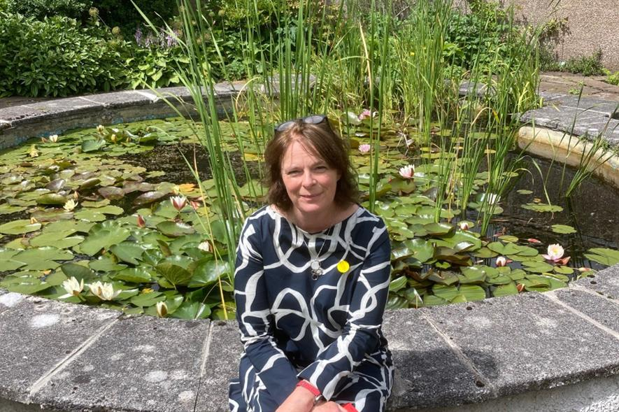 Scotland's Gardens Scheme national organiser Liz Stewart - credit: SGS