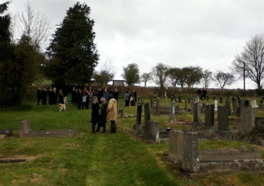Llansanffraid Cemetery. Image: Alan Myers/Flickr (CC-BY-2.0)