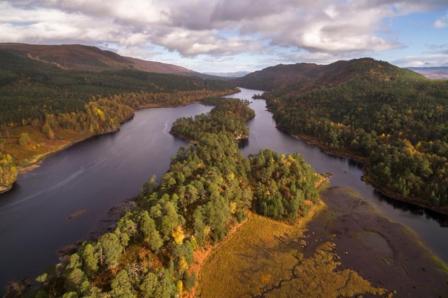 Loch Beinn a'Mheadhoin in Glen Affric, Scotland - credit: SCOTLAND: The Big Picture