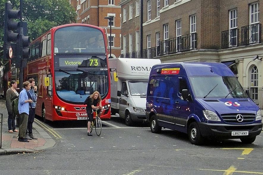 London traffic. Image: Gareth Williams/Flickr/Creative Commons